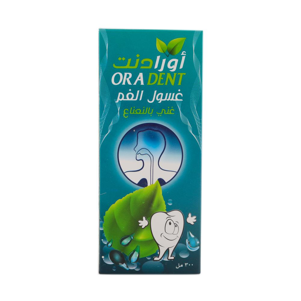 Oradent Mouth wash Rich With Mint-300ml